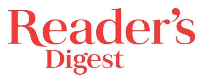 as seen in readers digest - logo