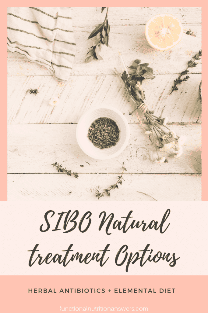 SIBO Natural Treatment Options from Functional Nutrition Answers